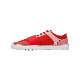 Creative Recreation Cesario Lo Woven Sneakers in Red White
