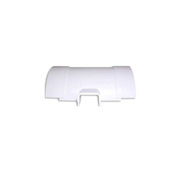 Wire Track Corner Tee Reducer FMTR1150500W - White