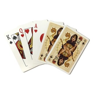 Queen of Spades - Playing Card - LP Artwork (Poker Playing Cards Deck)