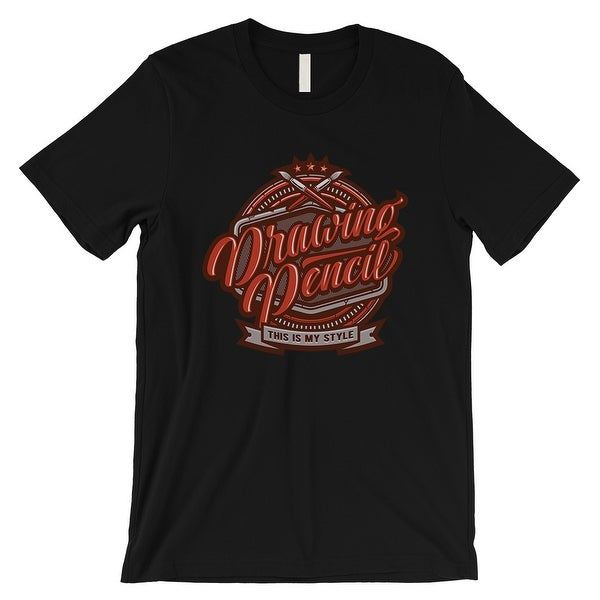 5a17ee75 Shop Drawing Pencil Mens Black Vintage Style T-Shirt Doodling Gifts - On  Sale - Free Shipping On Orders Over $45 - Overstock - 21505389