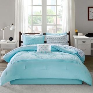 Link to Devynn Embroidered Comforter and Sheet Set by Intelligent Design Similar Items in Bed-in-a-Bag