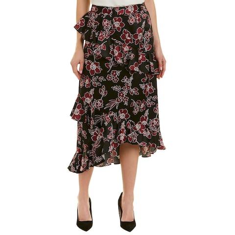 Tahari Asl Midi Skirt