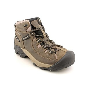 Keen Targhee II Mid Men Round Toe Leather Brown Hiking Boot