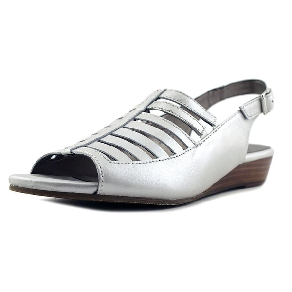 Array Iris Women Silver Pumps