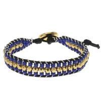 Cotton Wrapped Loom Bracelet - Nautical Celtic - Exclusive Beadaholique Jewelry Kit