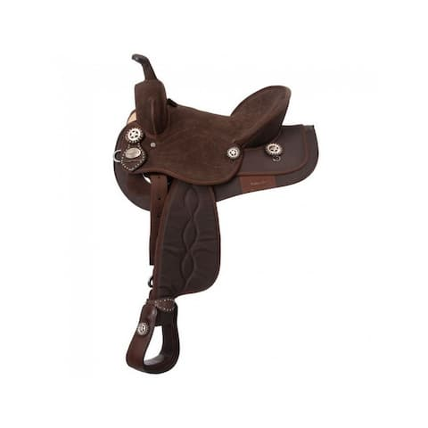 Tough 1 Western Saddle King Series Synthetic Trail Wide