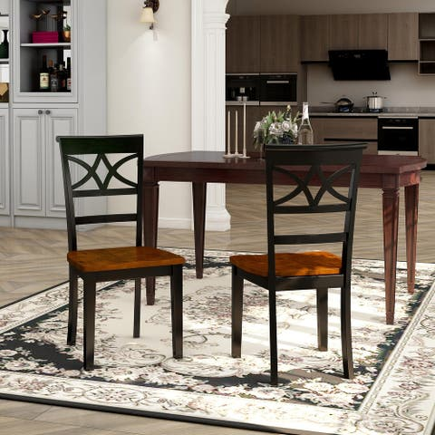 The Gray Barn Hickory Homestead Duo-tone Dining Chair (Set of 2)