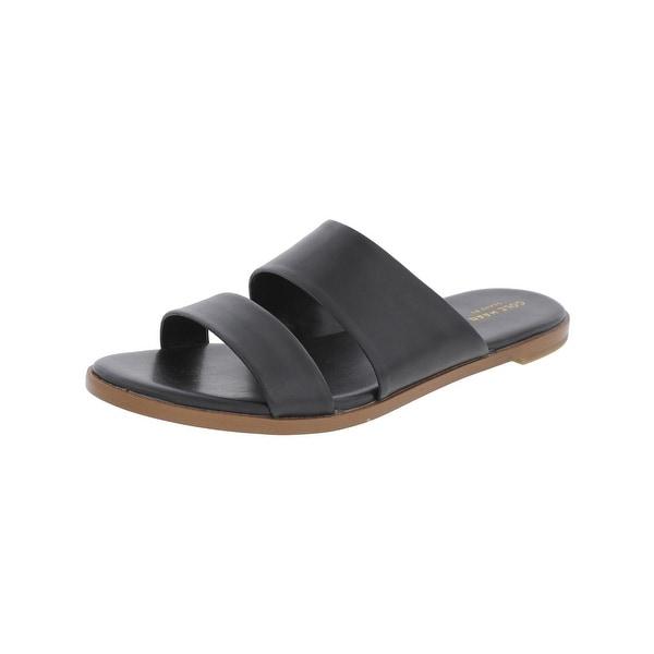 Cole Haan Womens Anica Slide Sandals Flats Open Toe - 9 medium (b,m)