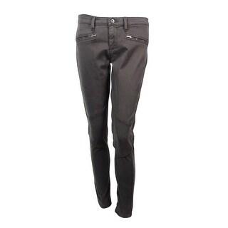 Adriano Goldschmied Women's Faux Zipper Pocket Pants