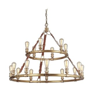 "Craftmade 48118 Huxley 18 Light 43-1/2"" Wide Ring Chandelier"