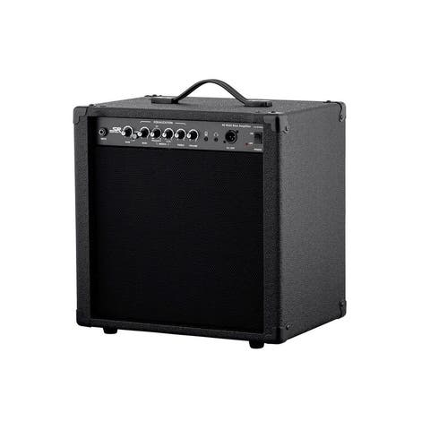 Monoprice 40-Watt 1x10 Bass Combo Amplifier, Built-in Compressor and Direct Injection XLR Output - Stage Right Series