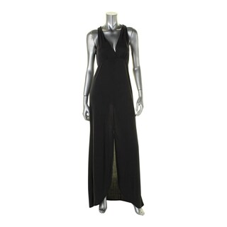 Ella Moss Womens Isabella Maxi Dress Slit Sleeveless