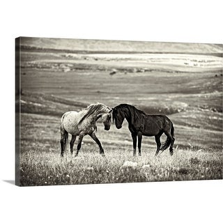 "Link to ""Close encounter"" Canvas Wall Art Similar Items in Art Prints"