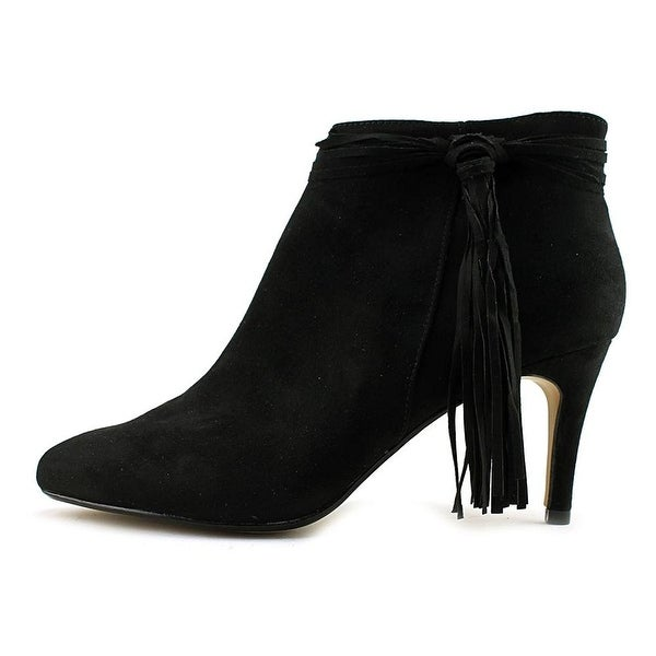 Thalia Sodi Womens Altaf Suede Round Toe Ankle Fashion Boots - 10
