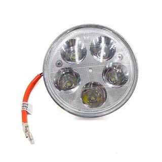 DC 12V 35W 8000K Shell Round 5 White LED Light Motorcycle Headlight Spotlight