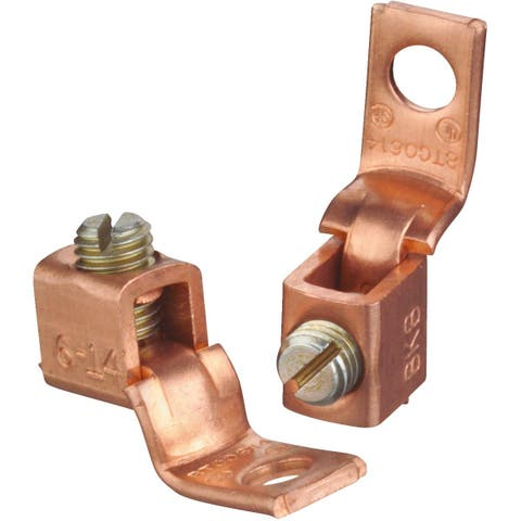 Blackburn 1/0Str-2Str Awg Term Lug