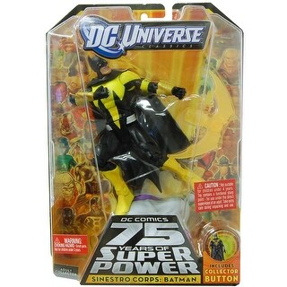 DC Universe Collect & Connect Figure: Sinestro Corps Batman - multi