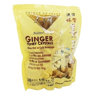 Prince Of Peace Ginger Honey Crystals 30-count