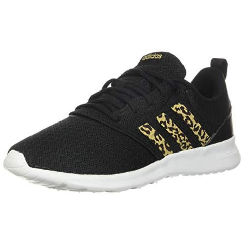 adidas,womens,QT Racer 2.0,Black/Hazy Beige/Grey