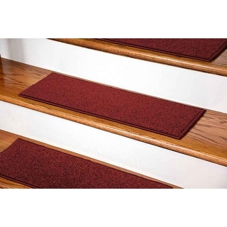 "StepBasic Non-Slip Rubber Backing Resistant Carpet Stair Gripper Set of 7 ( 8.5"" x 26"" )"