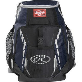 Rawlings R400-S Players Backpack (Navy Blue)