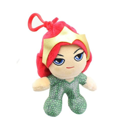 DC Comics Heroez Clipz 4 Inch Collectible Mini Plush - Mera - Multi
