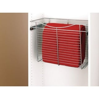 Rev-A-Shelf CB-241218 CB Series 24 x 12 x 18 Inch Wire Pull-Out Closet Basket