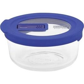 Pyrex No-Leak Round Baking Dish