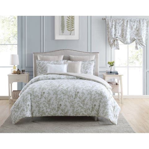 Laura Ashley Lindy Cotton Bonus Comforter Set