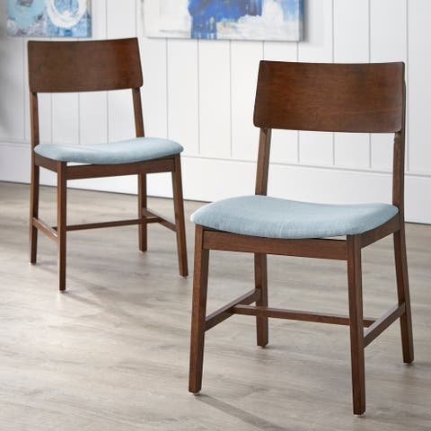 Simple Living Judith Solid Wood Dining Chair (Set of 2)