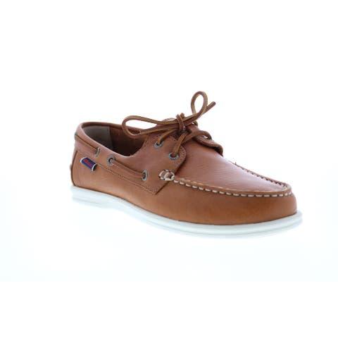Sebago Naples Brown Tan Womens Boat Shoes Loafers & Slip Ons