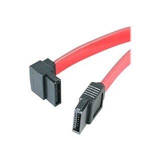 "Startech Sata18la1 18"" Sata To Left Angle Sata Serial Ata Cable F/F"