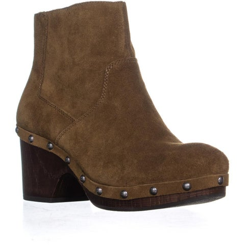 Lucky Brand Yasamin Studded Booties, Tapenade