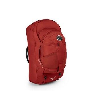 Osprey Farpoint 70 Travel and Trekking Backpack - Jasper Red M/L Torso
