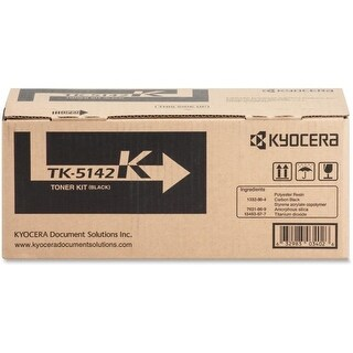 Kyocera KYOTK5142K Toner Cartridge, 7 K Pages - Black