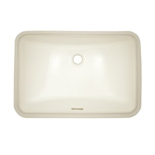 """Toto LT542G  19"""" Undermount Bathroom Sink with Overflow and CeFiONtect Ceramic Glaze"""