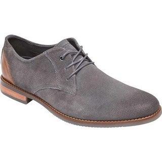 Rockport Men's Style Purpose Plain Toe Oxford Castlerock Suede