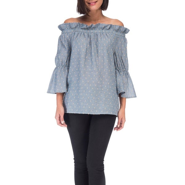 20ec26a768dd5 Shop Bobeau Martha Off the Shoulder Top - Free Shipping On Orders ...