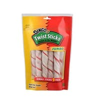 Dingo Jumbo Twist Sticks, 9pk