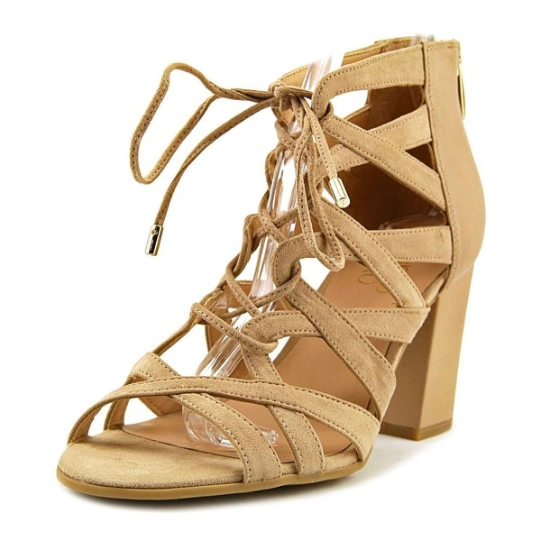 0b1f81adc970 Shop Franco Sarto Meena Women Beige Sandals - Free Shipping On ...