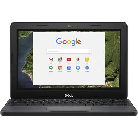 "Dell Chromebook 5190 Intel Celeron N3450 X4 1.10GHz 4GB 32GB 11.6"",Black(Certified Refurbished)"
