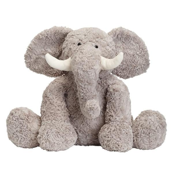 Shop JOON Bobo The Elephant Stuffed Animal, Grey, 15