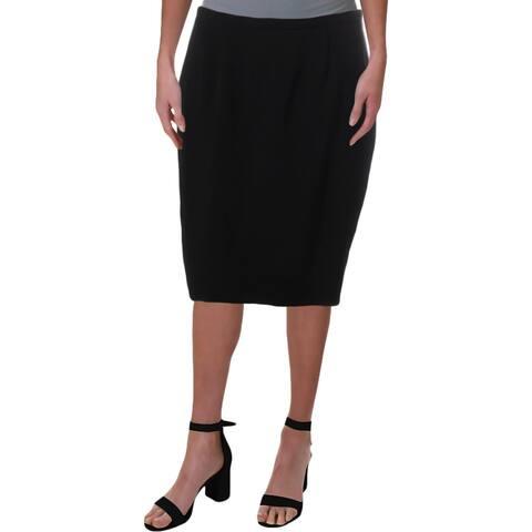 MaxMara Womens Rima Pencil Skirt Seamed Vented - 6