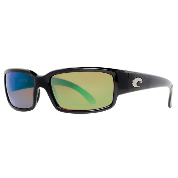 b8ea5f209fe Costa Del Mar Caballito CL11 OGMGLP Black Green Mirror Polarized 580G  Sunglasses - Shiny Black