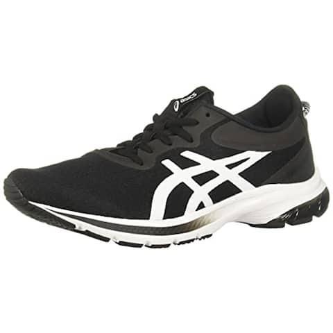 ASICS Men's Gel-Kumo Lyte 2 Running Shoes, Black/White