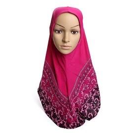 Muslim Kerchief Hat Scarf Printing 10