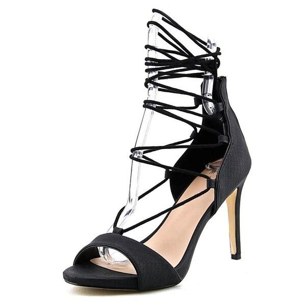 Mix No 6 Roza Women Open Toe Synthetic Black Sandals