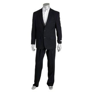 Izod Mens Pindot 2PC Two-Button Suit - 44S