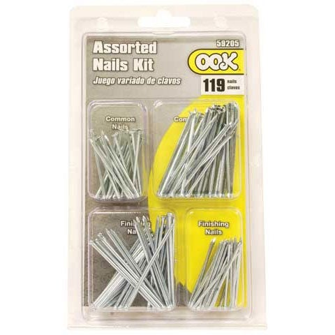 Ook - Common Nails 119-Piece Assorted Set