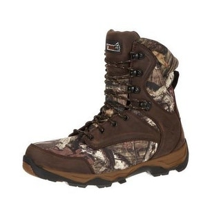 Rocky Outdoor Boots Mens Retraction WP Insulated Mossy Oak RKS0203